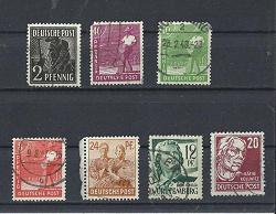 Отдается в дар «Почтовые марки Германии 1947»