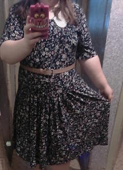 Отдается в дар «Платье 58-60 размер (тянется)»