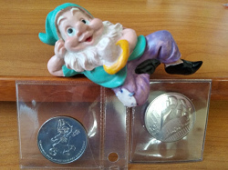 Отдается в дар «Монетки и календарик 2018»