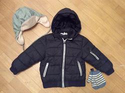 Отдается в дар «Куртка для мальчика H&M + шапка 110 — 116»