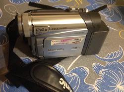 Отдается в дар «Кассетная видеокамера Panasonic.»