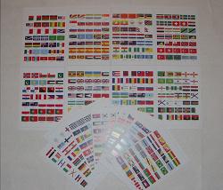 Отдается в дар «Большой набор флагов для большой коллекции»