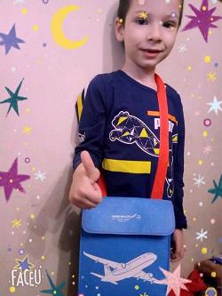 Отдается в дар «сумочка детская дорожная «Аeroflot»»