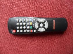 Отдается в дар «Пульт samsung для старого телевизора»