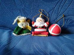 Отдается в дар «Игрушки на маленькую ёлку, 90е — совр.»