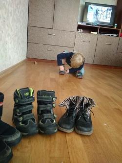 Отдается в дар «Обувь для мальчика 28-29 размер.»