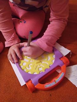 Отдается в дар «Подарено: Набор для детского творчества»