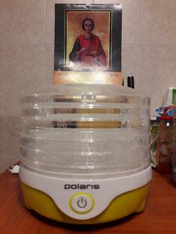 Отдается в дар «Сушилка для овощей и фруктов Polaris PFD 0305AD»
