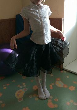 Отдается в дар «Белая блузка для девочки»