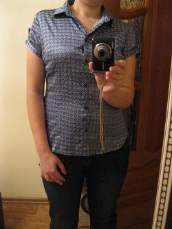 Отдается в дар «Рубашки с коротким рукавом женские»