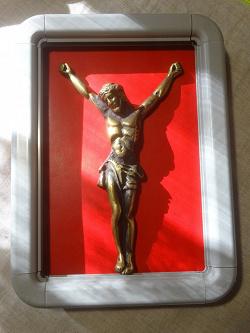 Отдается в дар «Фигурка человека, бронза.»