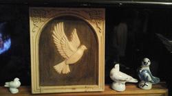 Отдается в дар «Картина из дерева»