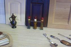 Отдается в дар «Бутылочки с декоративным консервированием»