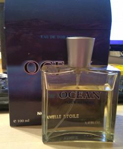 Отдается в дар «Мужская туалетная вода «Океан»»