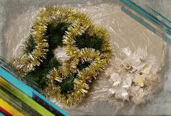 Отдается в дар «Венки из искусственной хвои новогодние разных видов»