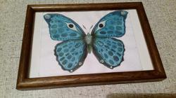 Отдается в дар «Акварельные бабочки»