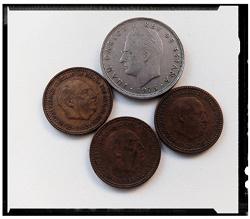 Отдается в дар «Монеты Испании»