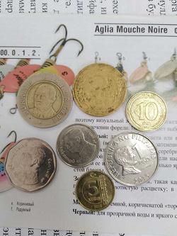 Отдается в дар «Монет кучка в одни ручки.»
