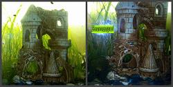 Отдается в дар «Замок для аквариума»