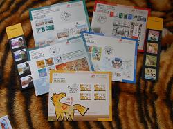 Отдается в дар «Карточки с изображениями серий марок»
