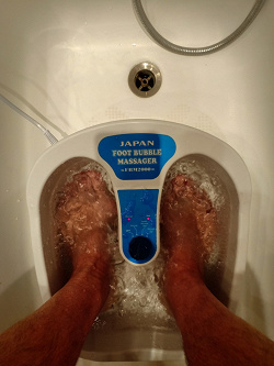 Отдается в дар «Массажная ванночка для ног»