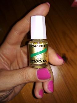 Отдается в дар «Фиксатор лака для ногтей colorfix mavala»