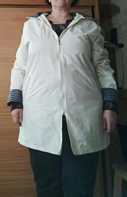 Отдается в дар «Куртка женская 56 р-р, «похудательная»»