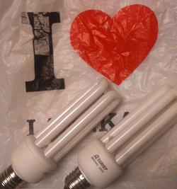 Отдается в дар «Энергосберегающие лампочки»