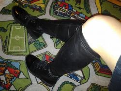 Отдается в дар «ботинки-чулки»