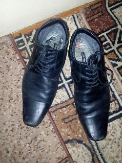 Отдается в дар «Муж.обувь 41-42 размер, б/у»