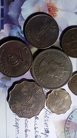Отдается в дар «5 долларов. Гонконг»