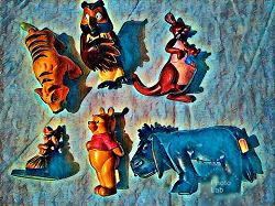 Отдается в дар «Фигурки персонажей из «Винни-пуха»»