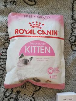 Отдается в дар «Сухой корм для кошек.»
