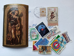 Отдается в дар «марки неопределённой тематики (импорт)»