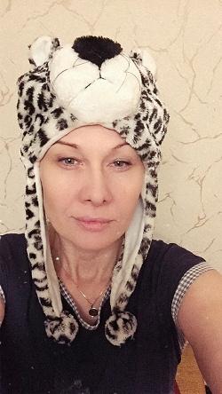 Отдается в дар «Шапка-леопард»