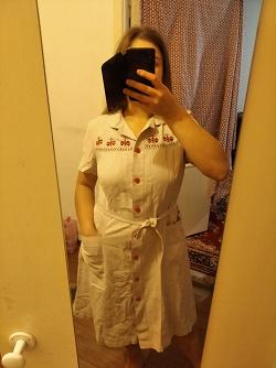 Отдается в дар «Платье сафари (в украинском стиле)»