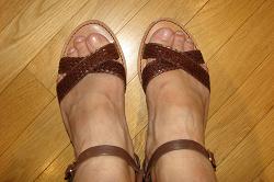 Отдается в дар «Женские сандалии размер 38»