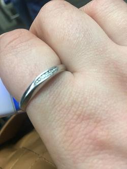 Отдается в дар «Серебряное кольцо с бриллиантами»