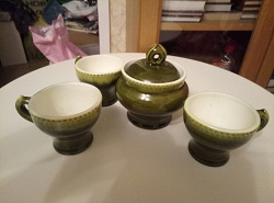 Отдается в дар «Кофейные чашки, керамика.»
