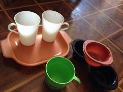 Отдается в дар «пластиковая посуда»