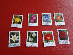 Отдается в дар «Марки «Цветы Германии»»