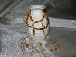 Отдается в дар «Бусы янтарь»