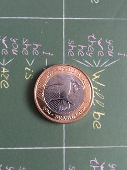 Отдается в дар «Монета Бразилии»