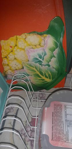 Отдается в дар «Подставка под горячее «Цветная капуста» и салфетка»