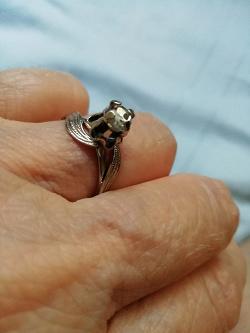 Отдается в дар «Кольцо размер 16-16.5»