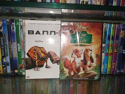 Отдается в дар «DVD мультфильмы»