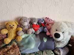 Отдается в дар «Мягкая игрушка Грустный Мишка»