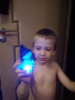 Отдается в дар «USB-светильник Снеговик»