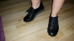 Отдается в дар «Кожаные туфли/кроссовки р.39,5»