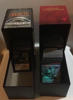 Отдается в дар «MtG (Magic) Две коробочки для карт»